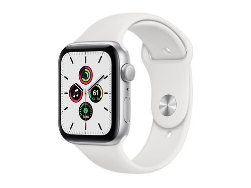 APPLE SILVER 44MM WATCH SE MYDQ2PO/A image number 0