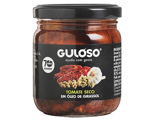 TOMATE GULOSO SECO COM ALCAPARRAS ÓLEO GIRASSOL 185G image number 0