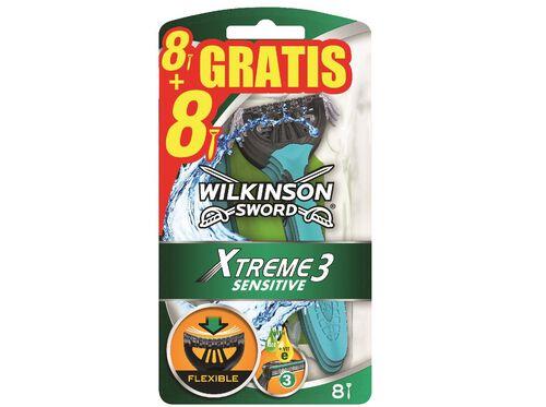 MÁQUINA DESCARTÁVEL WILKINSON XTREME III SENSITIVE 8 +8 UN image number 0