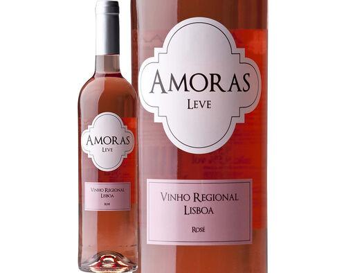 VINHO AMORAS ROSÉ LEVE IG LISBOA 0.75L image number 0