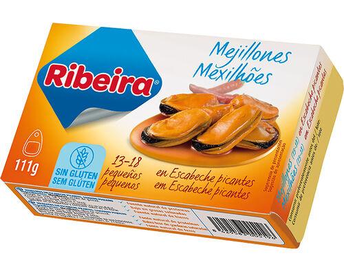 MEXILHÕES RIBEIRA EM ESCABECHE PICANTE 111G image number 0