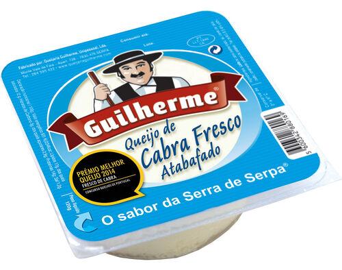 QUEIJO GUILHERME CABRA FRESCO ATABAFADO 120G image number 0