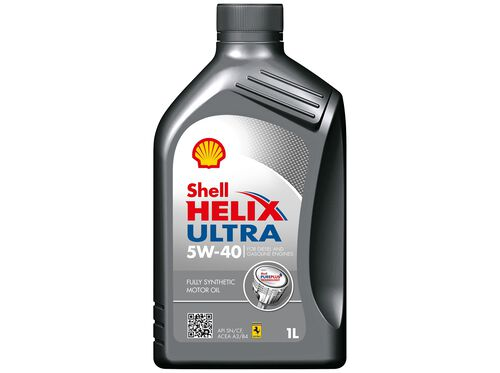 LUBRIFICANTE HELIX ULTRA SHELL 5W40 SN/CF A3/B4 1 LT image number 0