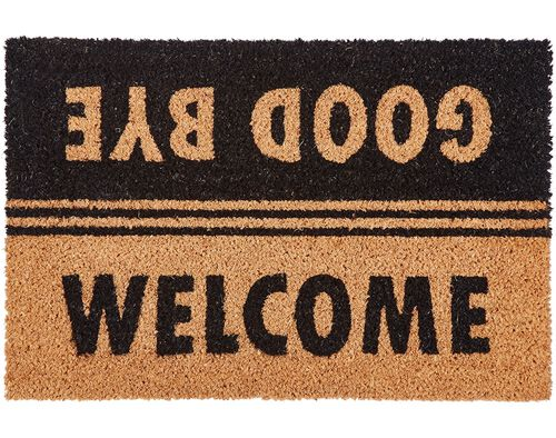 TAPETE DE ENTRADA WELCOME/GOODBYE ACTUEL 40X60CM image number 0
