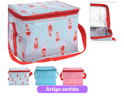 SACO TERMICO COOLER BAG 3CORES SORT 4LT image number 0