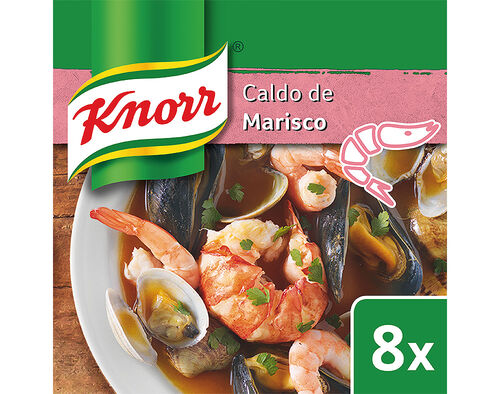 CALDO KNORR MARISCO 8 CUBOS 80G image number 0