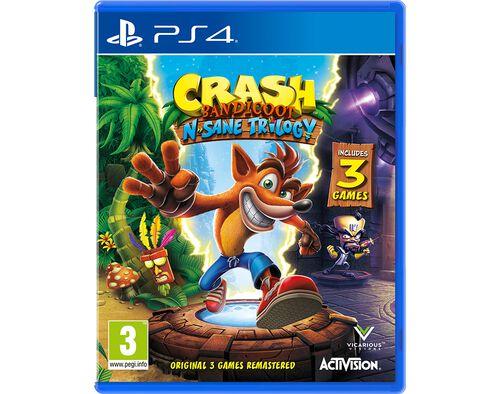 JOGO CRASH N. SANE PS4 TRILOGY image number 0