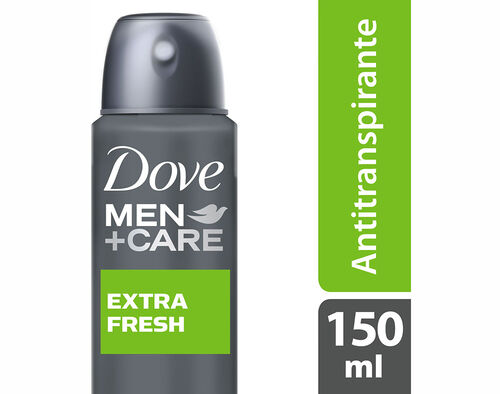 DEO SPRAY DOVE EXTRA FRESH 150 ML image number 0