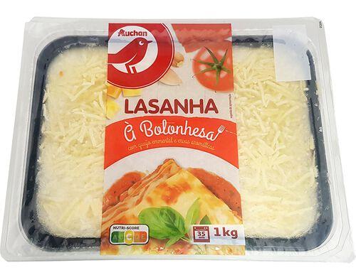 LASANHA À BOLONHESA AUCHAN 1 KG image number 0