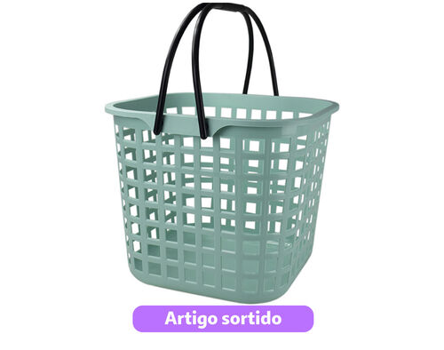 CESTO COMPRAS COM ASAS COLORS CODIL 340X340X290 25L image number 0