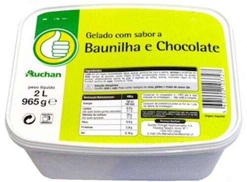 GELADO POLEGAR BAUNILHA/CHOCOLATE 2L image number 0