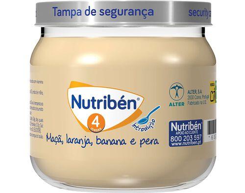 BOIAO NUTRIBEN MAÇA LARANJA BANANA PERA 120G image number 0
