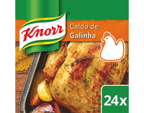 CALDO KNORR GALINHA 24 CUBOS 240G image number 0