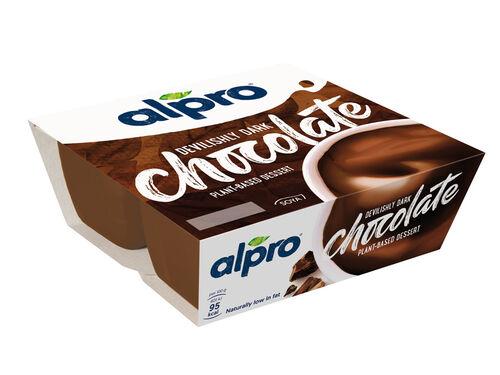 SOBREMESA ALPRO SOJA CHOCOLATE PURO 4X125G image number 0