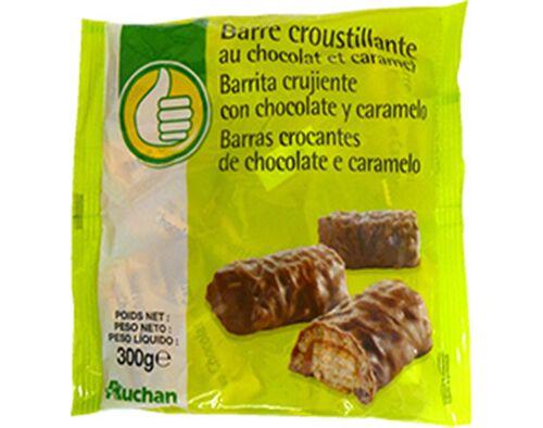 BARRAS POLEGAR CROCANTES CHOCOLATE E CARAMELO 300G image number 0