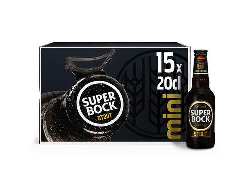 CERVEJA PRETA SUPER BOCK STOUT 15X0.20 L image number 0