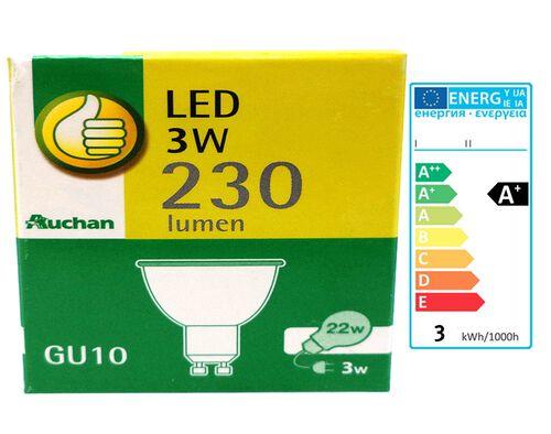 LAMPADA LED GU10 SPOT POLEGAR EQ.22W LUZ AMARELA image number 0