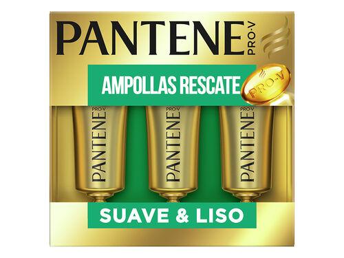 AMPOLAS PANTENE SUAVE & SEDOSO 3X15ML image number 0