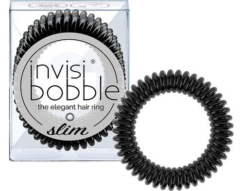 ELASTICO INVISIBOBBLE SLIM TRUE BLACK 3UN image number 0