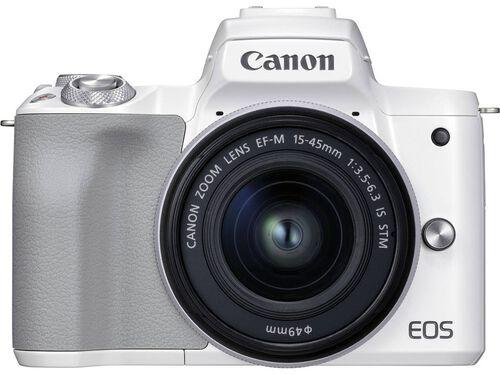 MÁQUINA FOTOGRÁFICA MIRRORLESS CANON EOS M50 MII+ EF-M 15-45MM F/3.5-6.3 IS STM BRANCA image number 0