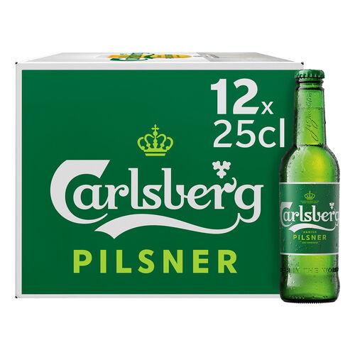 CERVEJA CARLSBERG 12X0.25 L image number 1