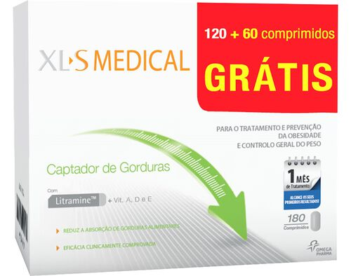 SUPLEMENTO XLS MEDICAL CAPTADOR GORDURAS 2X60CP OF 60 image number 0