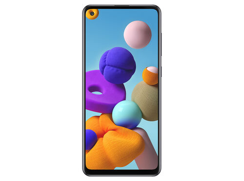 "SMARTPHONE SAMSUNG GALAXY A21S 4GB 128GB 6.5""PRETO image number 1"