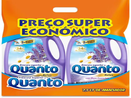 AMACIADOR QUANTO ROUPA SACO RELAX 7.5L image number 0
