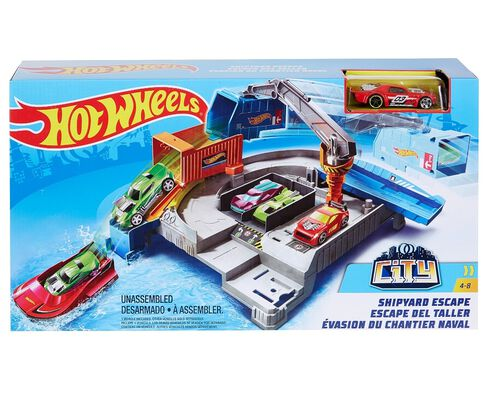 PISTA CITY THEMED HOT WHEELS image number 0