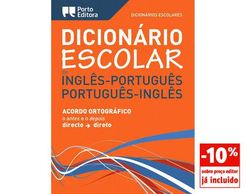 DICIONAR ESCOLAR PORTO EDITORA INGLES-PORTUG/PORTUG-INGLES image number 0