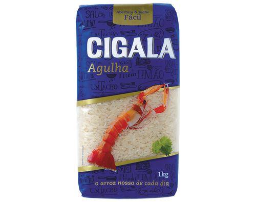 ARROZ CIGALA AGULHA 1KG image number 0