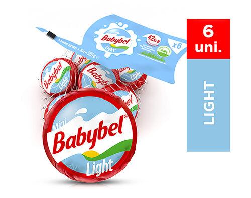QUEIJO BABYBEL MINI LIGHT 6UN 120G image number 0