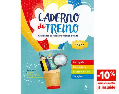 CADERNO DE TREINO TEXTO 1º ANO image number 0