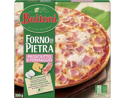 PIZZA BUITONI FORNO DI PIETRA QUEIJO E FIAMBRE 350G image number 0