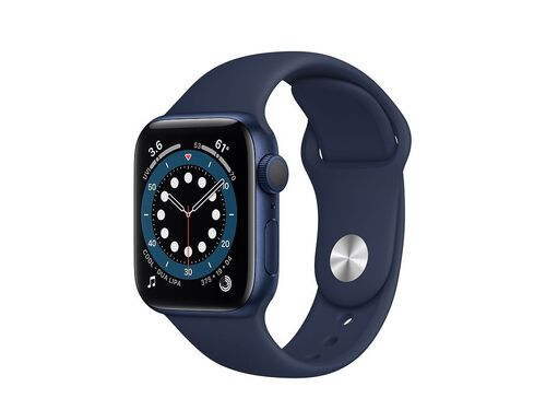 APPLE BLUE 40MM WATCH 6 MG143PO/A image number 0