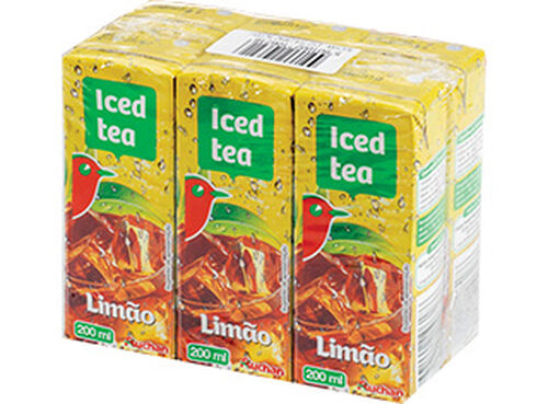 ICED TEA AUCHAN LIMÃO 6X200 ML image number 0