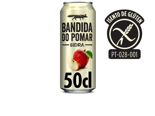SIDRA BANDIDA DO POMAR LATA 0.5L image number 0