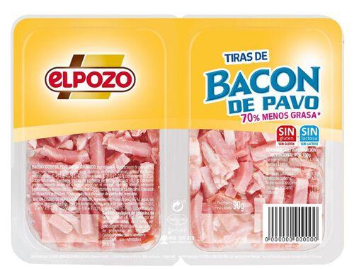 BACON ELPOZO PERU TIRAS 2X45G image number 0