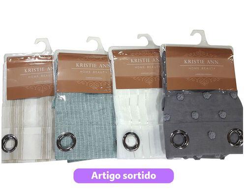 CORTINADOS CORES SORTIDAS 140X240CM image number 0
