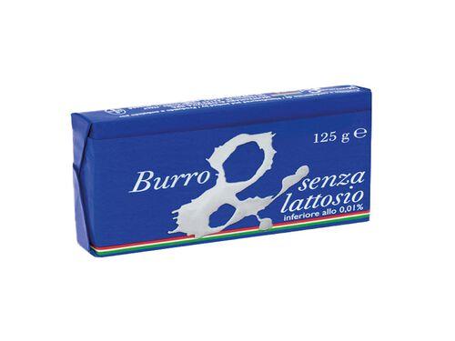 MANTEIGA SEM LACTOSE BURRO S/SAL 125G image number 0