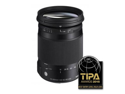 OBJECTIVA SIGMA 18-300MM F/3.5-6.3 DC MACRO OS HSM CONTEMPORARY PARA REFLEX CANON APS-C image number 1