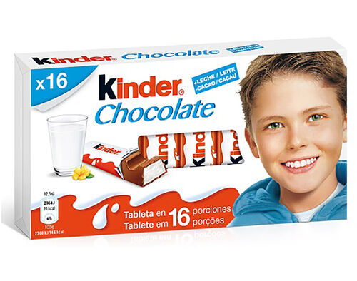 CHOCOLATE KINDER T16 200G image number 0