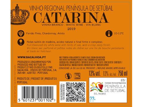 VINHO CATARINA BRANCO SETÚBAL 0.75L image number 2