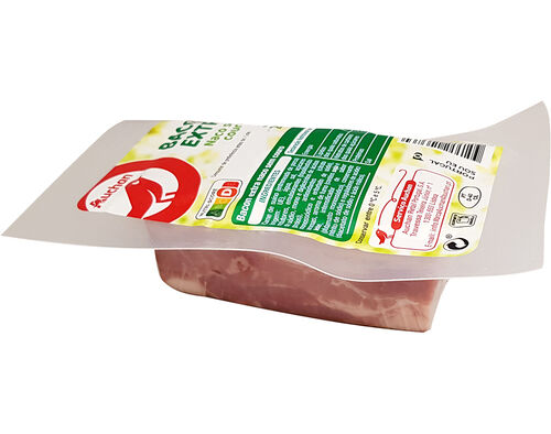 BACON AUCHAN EXTRA NACO SEM COURO 200G image number 0