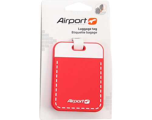 ETIQUETA P/BAGAGEM AIRPORT ROSA image number 0