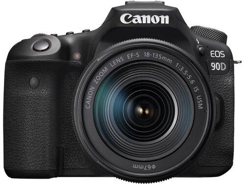 MÁQUINA FOTOGRÁFICA REFLEX CANON EOS 90D + EF-S 18-135MM F/3.5-5.6 IS USM image number 1