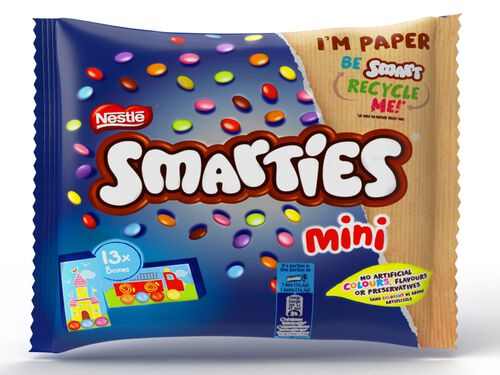 CHOCOLATE SMARTIES MINI 187G image number 0