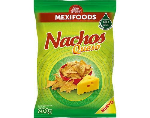 APERITIVO MEXIFOODS DE MILHO NACHOS QUEIJO 200G image number 0