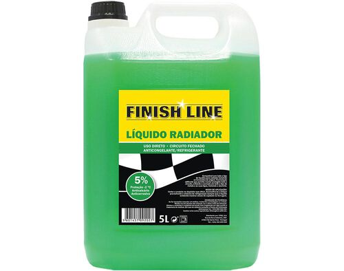 LÍQUIDO RADIADOR FINISH LINE 5L image number 0