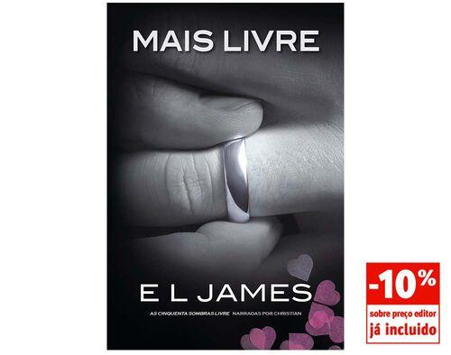 LIVRO MAIS LIVRE DE E.L. JAMES image number 0
